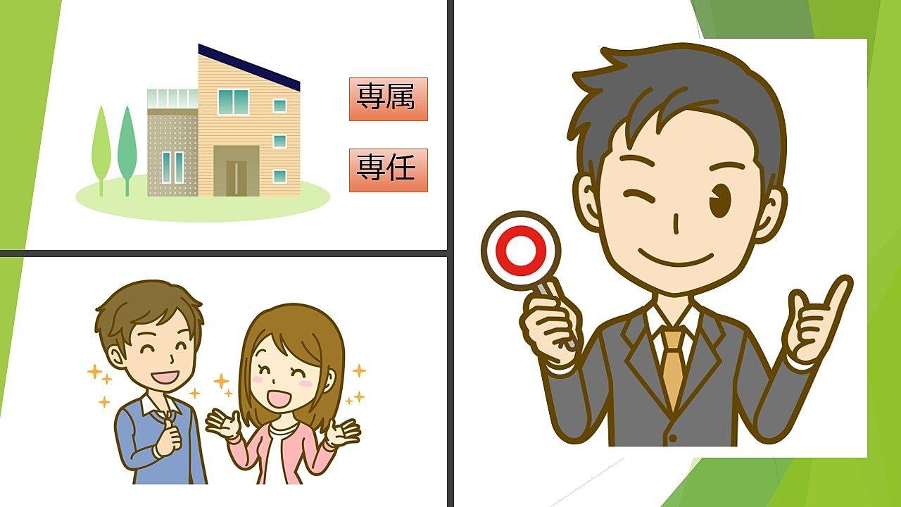 「専属」「専任」物件でも取り扱いできる!不動産屋さんを選ぶのはお客さまの権利です!