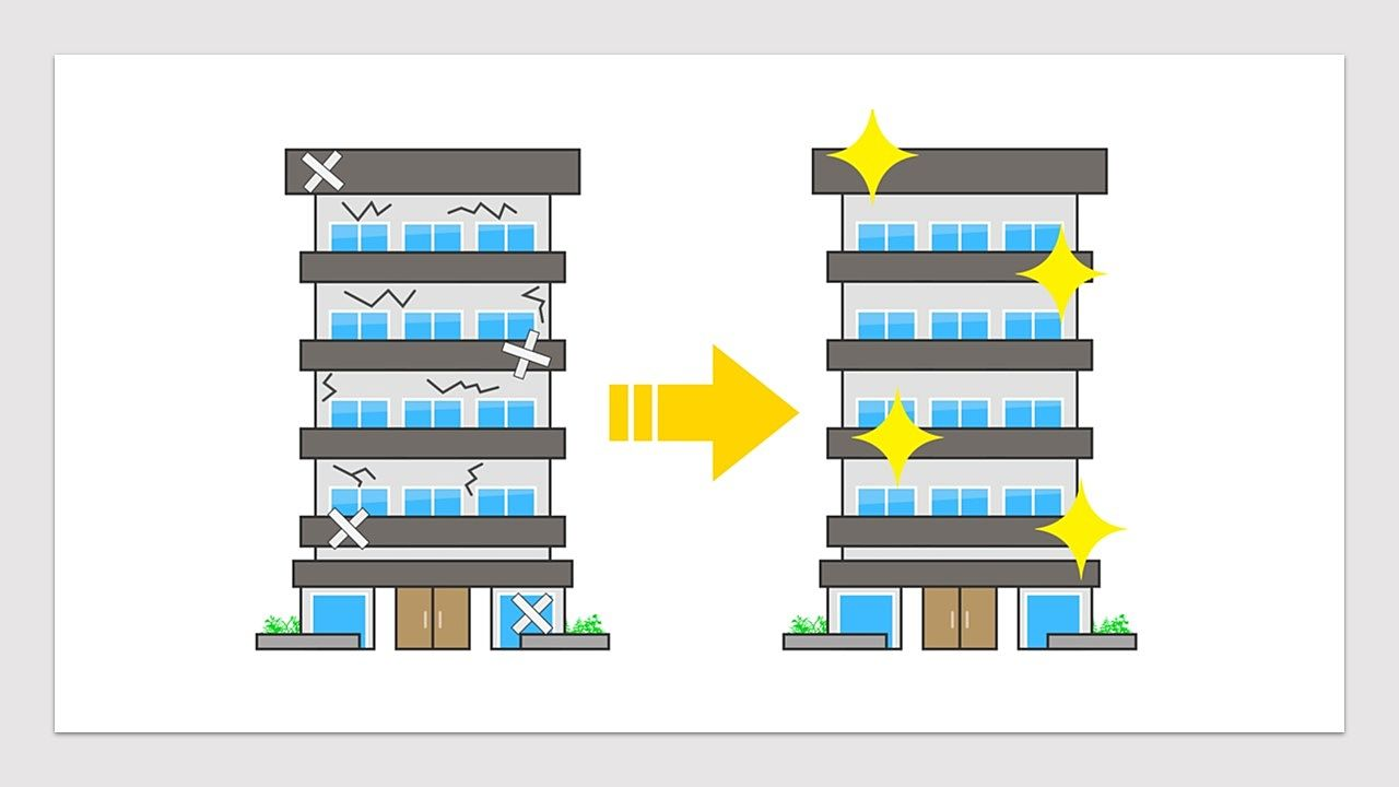 おしゃれリノベ + 共用部分の大規模修繕で超・高値成約した事例(プラス査定するポイント)