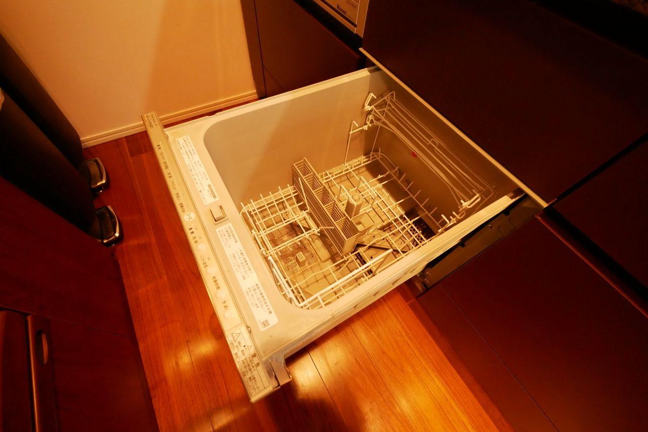 容量がわかる食洗機の写真