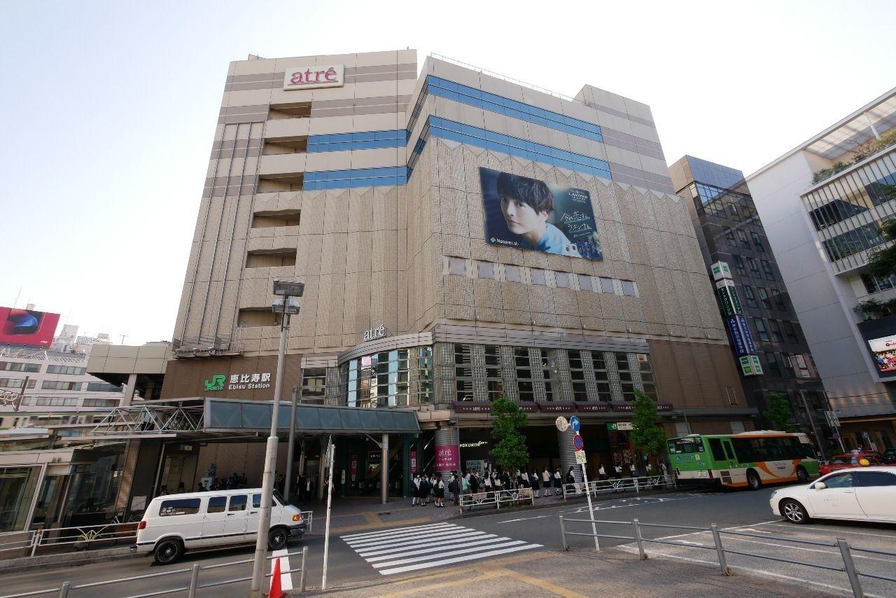 JR山手線「恵比寿」駅atre下にある出入口