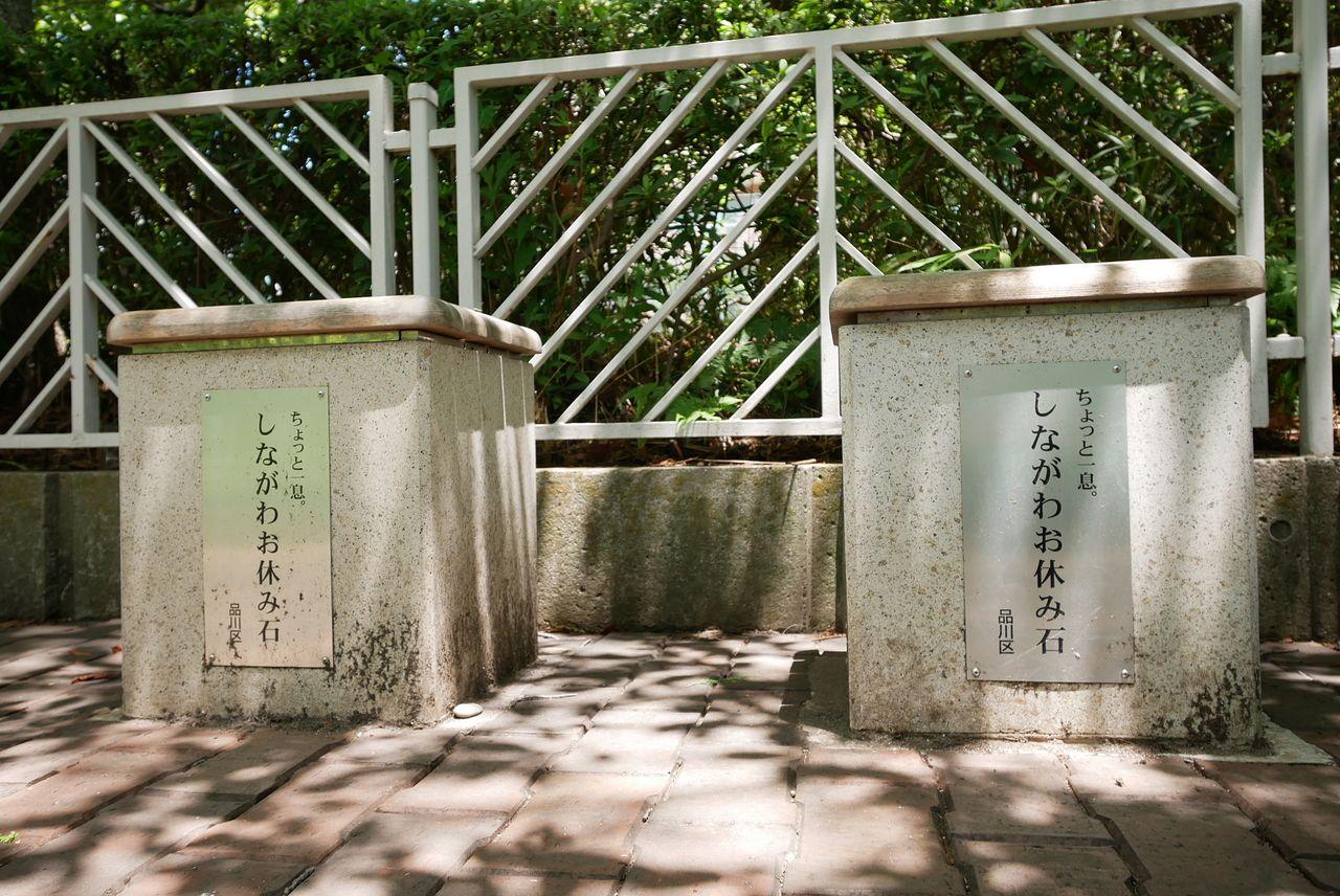 目黒川(しながわお休み石)