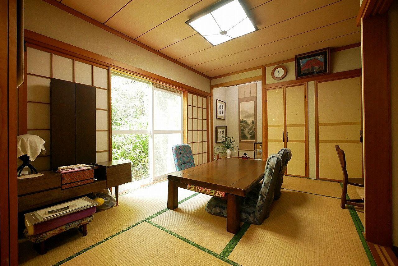 広々とした和室があります!家族のみんなでくつろいでください。