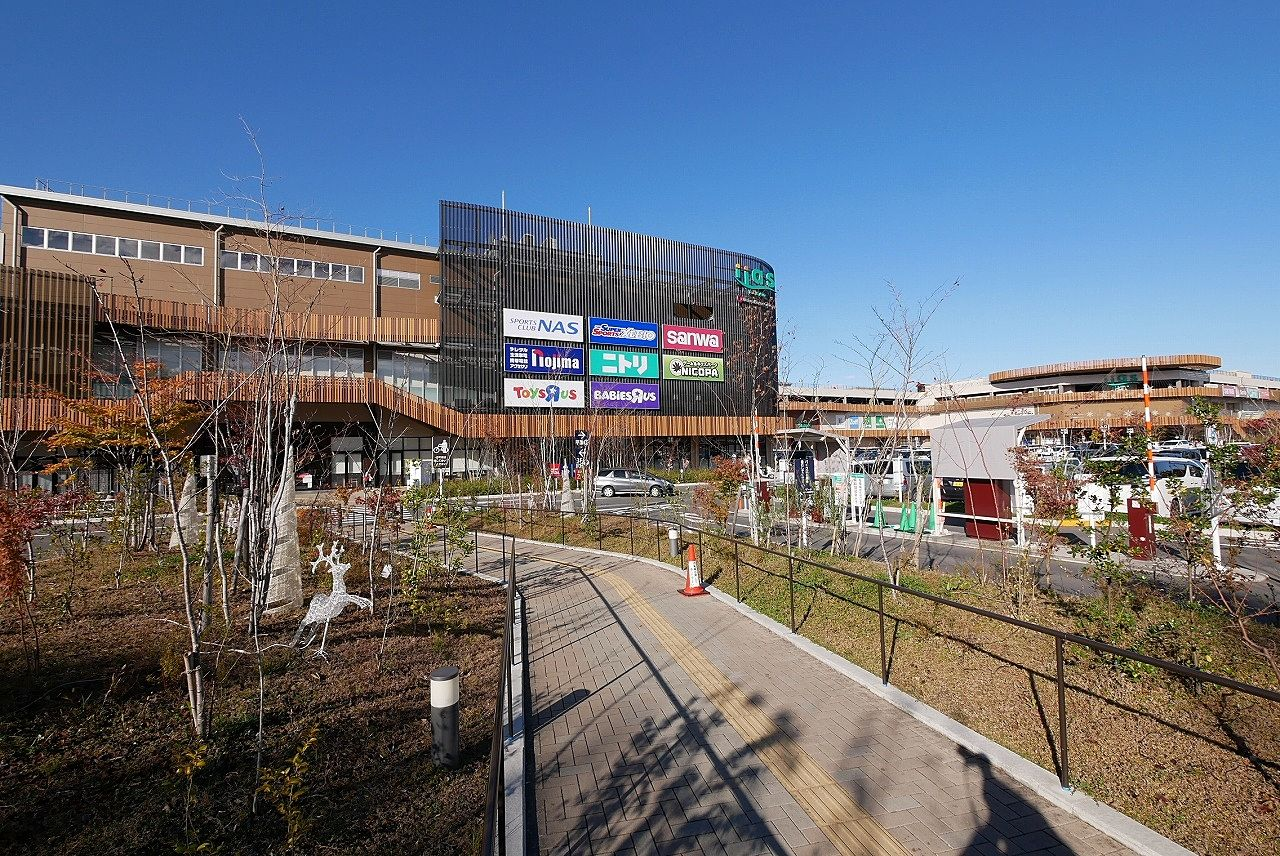 八王子市最大級のショッピングセンター・iias(イーアス)高尾