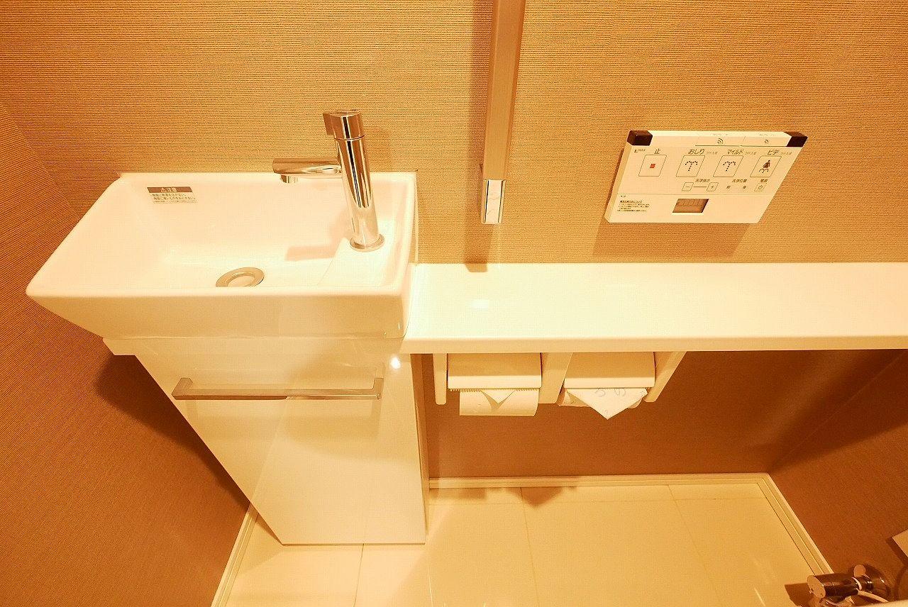 手洗い・ウォシュレット付きお手洗い