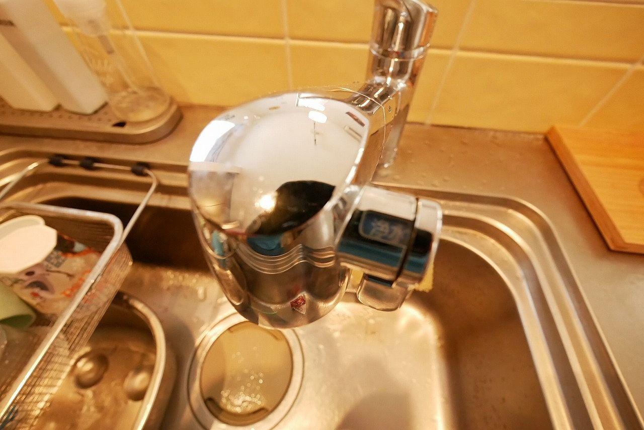 浄水機能付きハンドシャワー水栓(キッチン)
