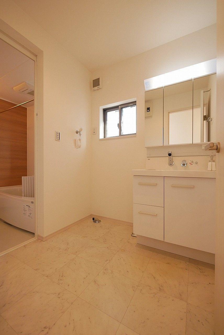 洗面所も広く取れています!洗濯もしやすいでしょう。