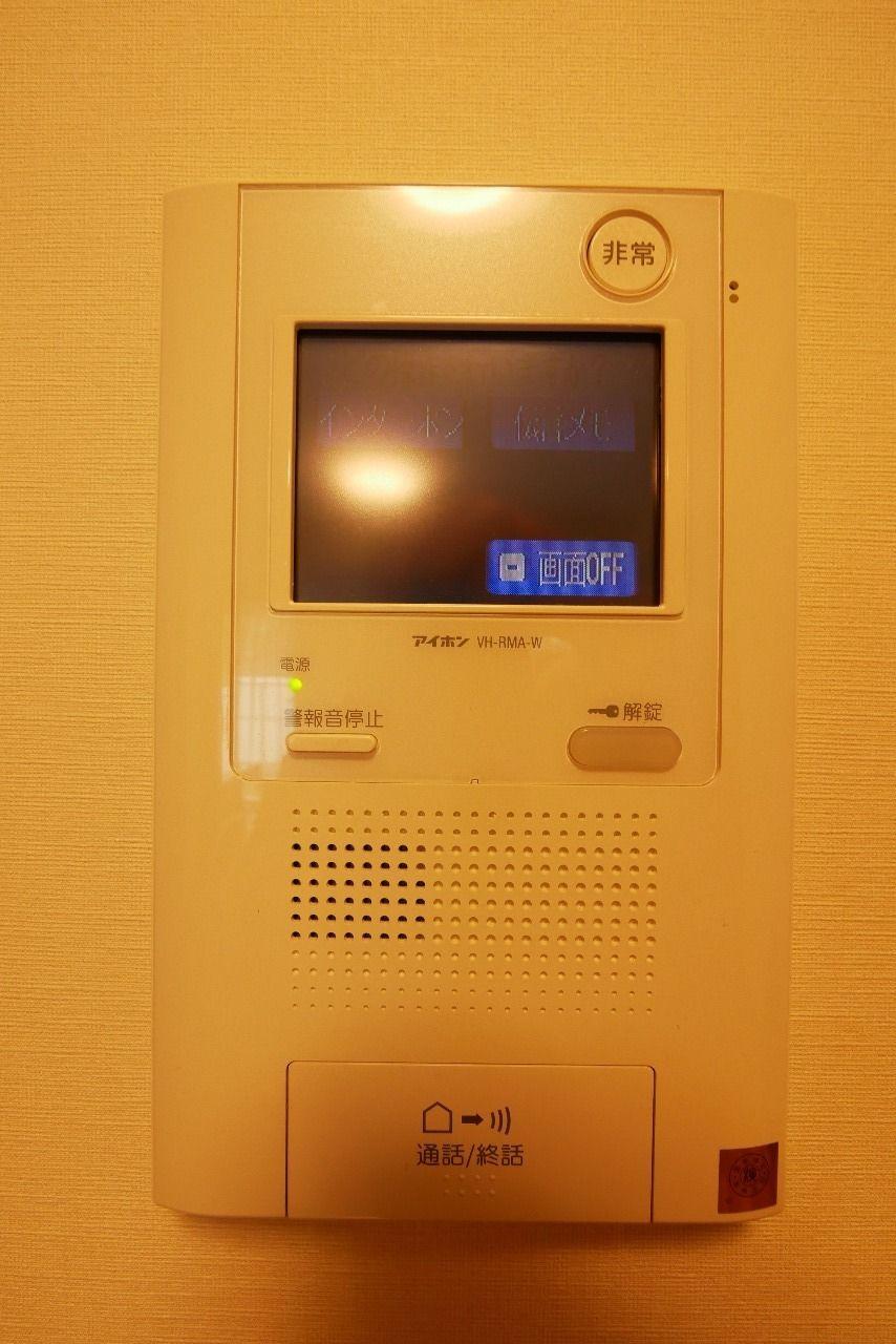 安心の録画機能付きインターフォン